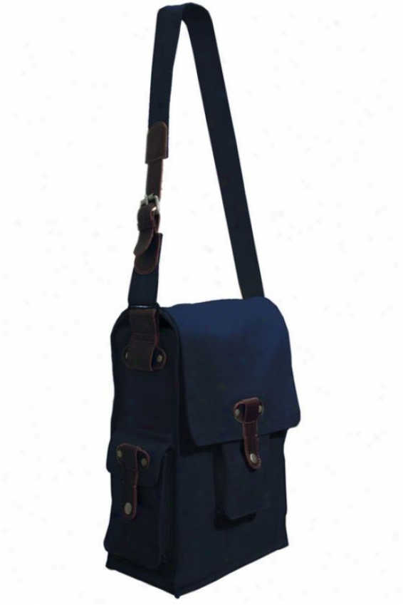 """cargo Double Wine Bag - 16""""hx9""""wx6""""d, Blue"""