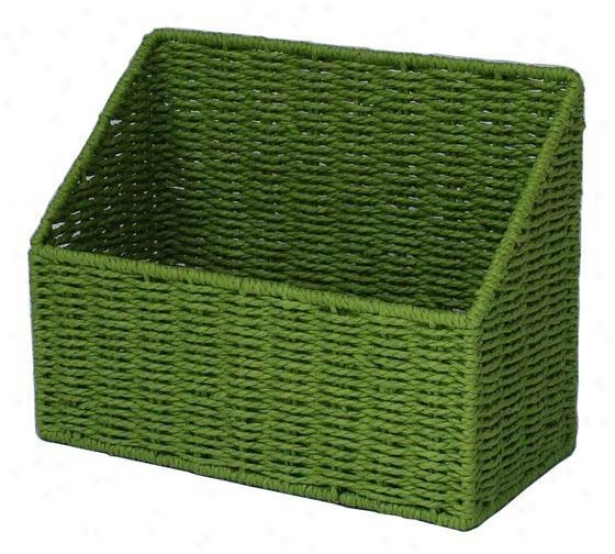 """cargo Elements Desktop File Holder - 5.5""""x12""""x10""""h, Peridot"""