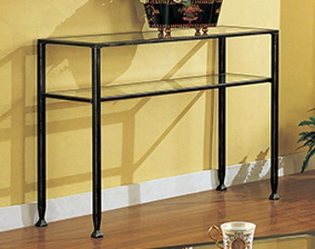 """carrollton Sofa Table - 30""""hx42""""w, Black"""