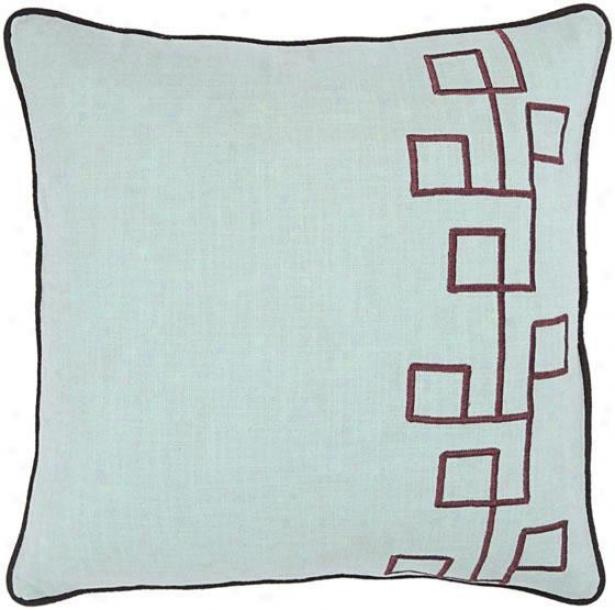 """""""cartter Pillow - 18""""""""x18"""""""", Blue"""""""
