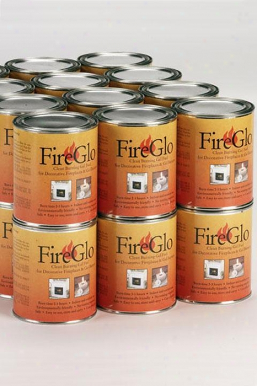 """carton Of Fireplace Gel Fuel - 9""""hx14""""w, Case Of 16"""