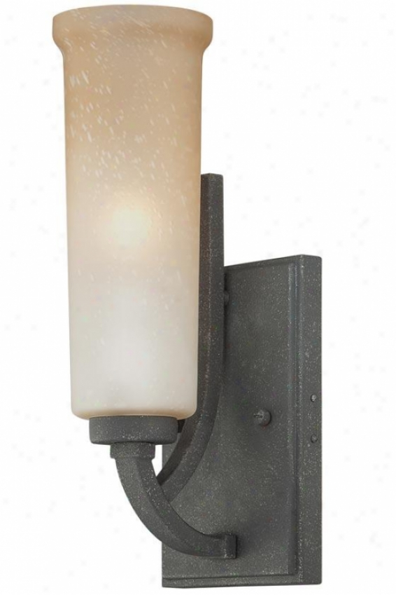Catherine Wall Sconce - 1-light, Grey Ash