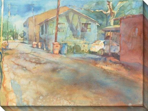 """""""causeway Dock Canvas Wall Art - 48""""""""hx36""""""""w, Multi"""""""