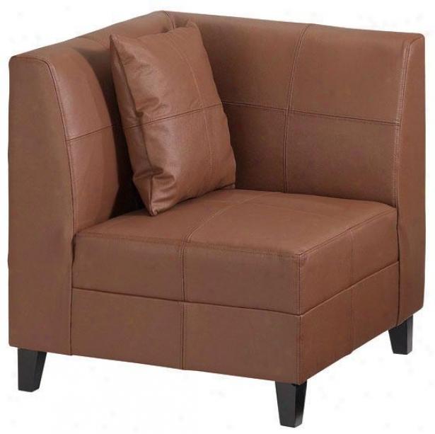 Cayenne Corner Seat - 31.5hx29.5w, Brown
