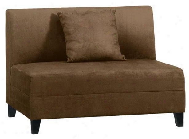 """caywnne Love Seat - 44""""w, Brown"""