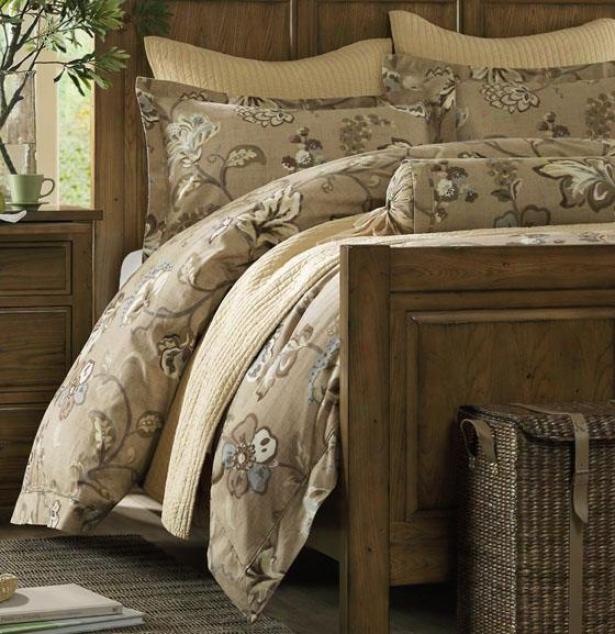 Caymus Ii Comforter Set - Queen 9pc Set, Khaki