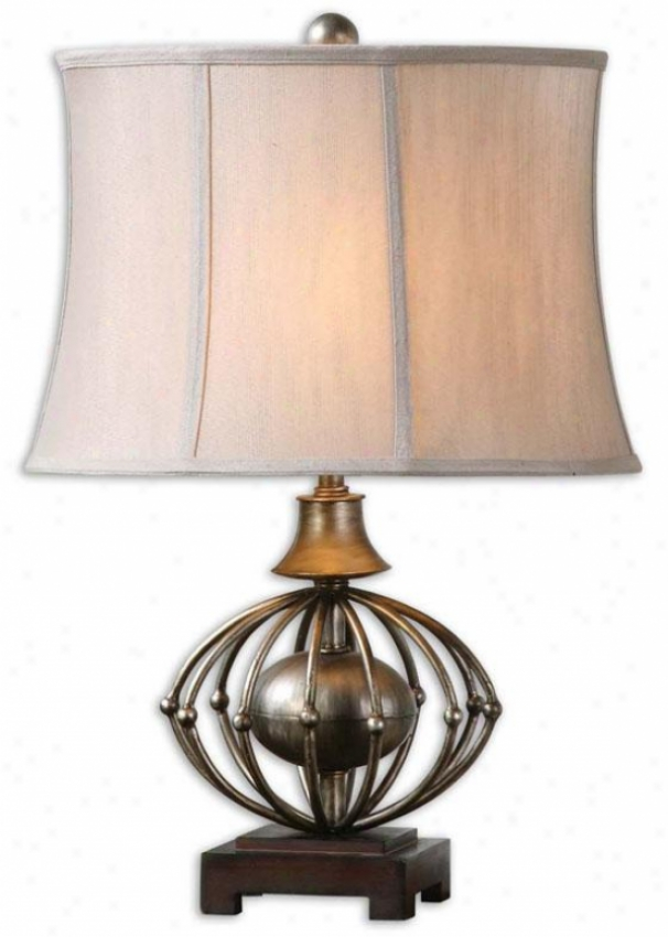 """""""celestiana Table Lamp - 25.5""""""""h, Antiqued Silver"""""""