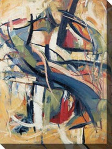 """""""cellist Vi Canvad Wall Art - 36""""""""hx48""""""""w,M ulti"""""""