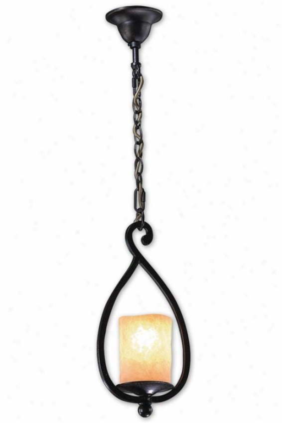 Chalet 1-lightM ini Pendant - 1 Light/mini, Coffe