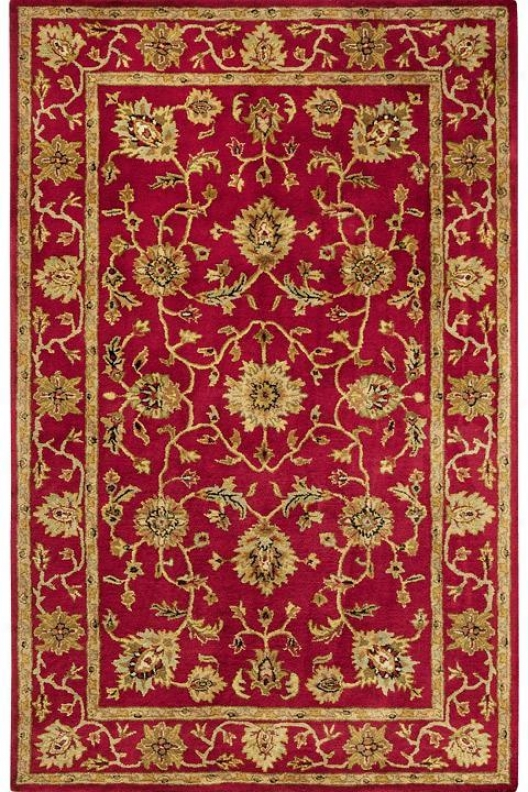 """chancellor Area Rug - 2'3""""x7'6""""runner, Red"""