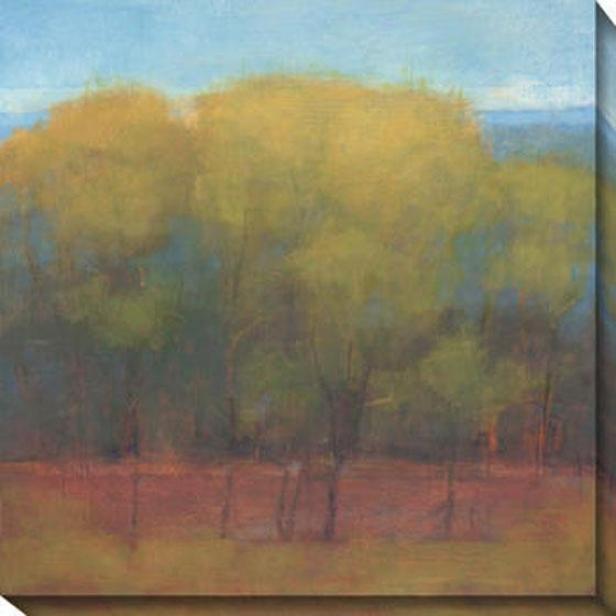 Alter Of Seasons I Camvas Wall Creation of beauty - I, Green