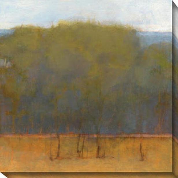 Change Of Seasons Ii Canvas Wall Art - Ii, Green