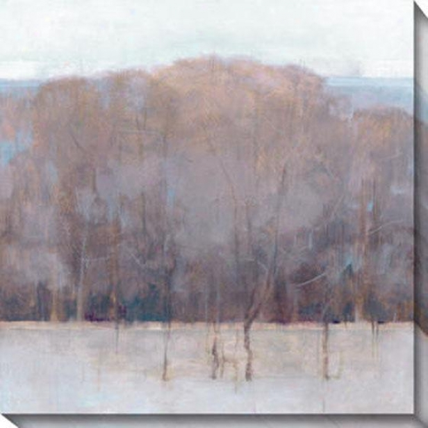 Change Of Seasons Iv Canvas Wall Art - Iv, Gray