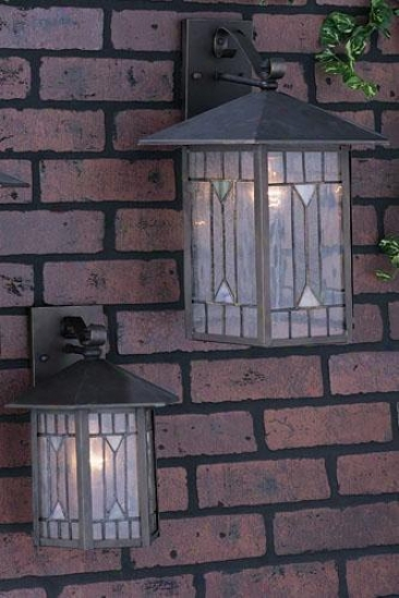 Chaparral Medium Outdoor Wall Lantern - Medium, Brown