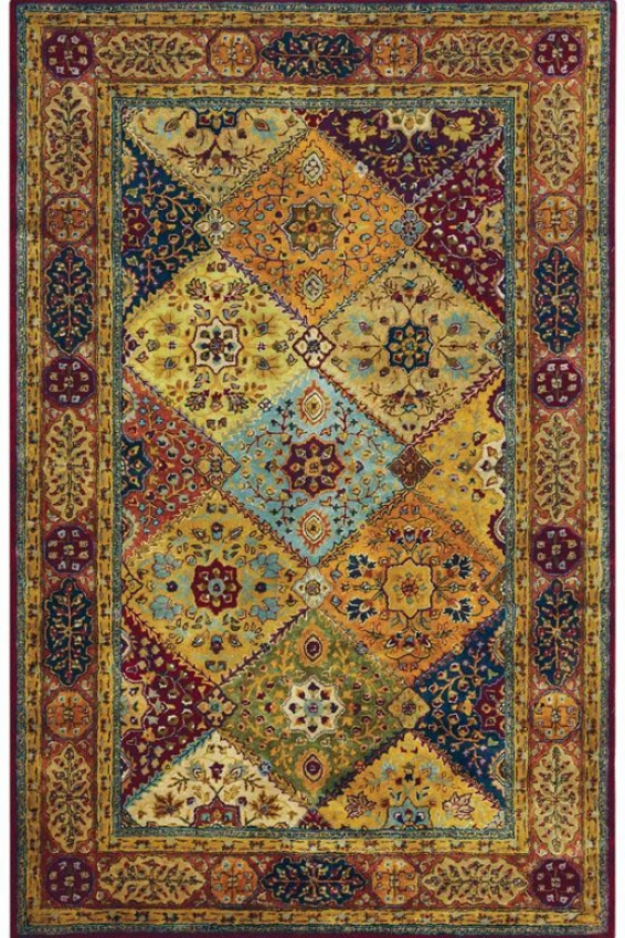 """chapel Area Rug - 2'6""""x4', Red"""