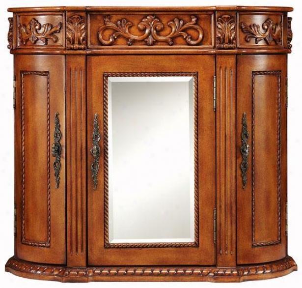 Chelsea 3-door Mirrored Wall Cabinet - 3 Doors, Oam