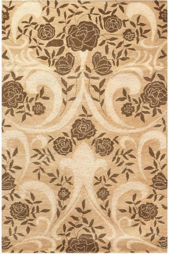 """cherish Area Rug - 2'6""""x4'6"""", Beige"""