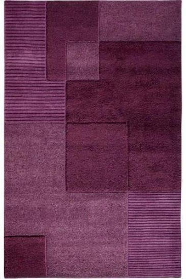 """""""clara Area Rug - 3'6""""""""x5'6"""""""", Purple"""""""