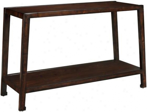 """clark Sofa Console Table - 28""""hx46""""w, Brown Wood"""