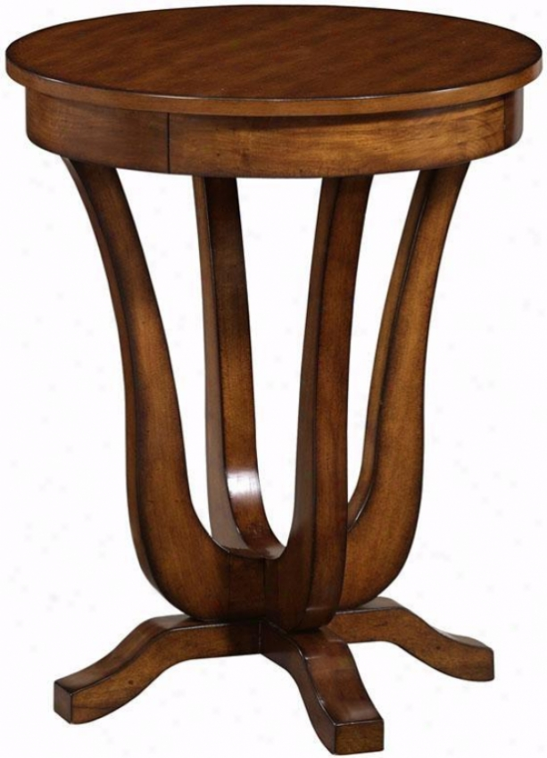 """classic cAcent Anywhere Table - 20""""w, Brown Cherry"""