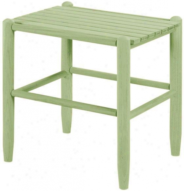 """classic Rocking Chair Accent Side Table - 19.5""""hx16""""wx18d, Green"""