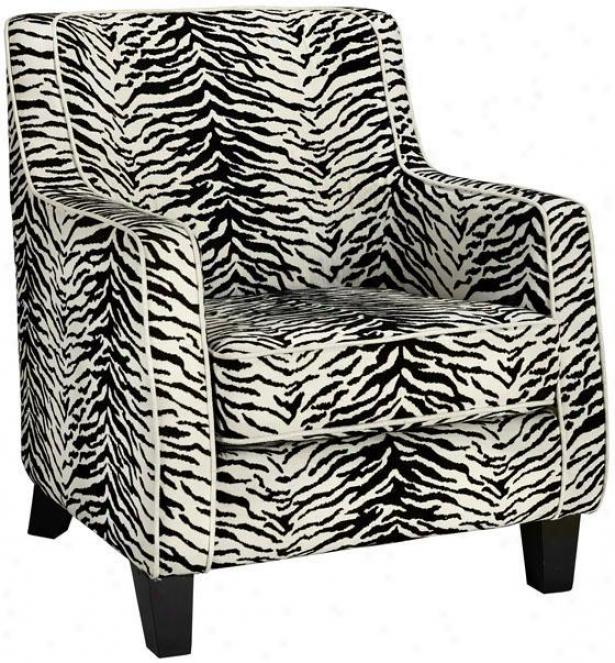 """clayton Arm Chair - 34""""hx32""""a, Black"""