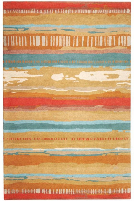 """cliffs Area Rug - 5'3""""x8', Beige"""