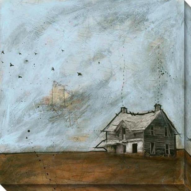 Cloyds More than Kansax Ii Canvas Wall Art - Ii, Blue