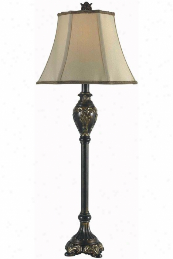 Contessa Slap Lamp - Set Of 2 - Set Of 2, Bronze