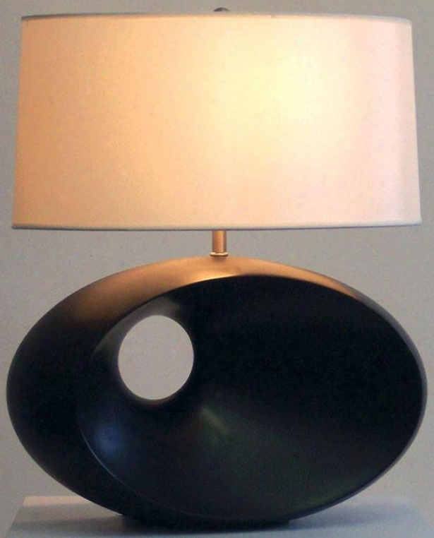 """convergence Table Lamp - 22""""h, Brown"""