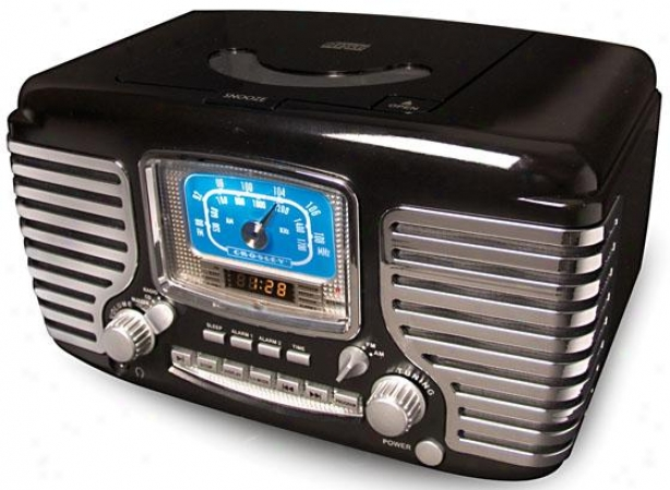 """corsair Cd Call to arms Clock Radio - 11""""wx7""""dx7""""h, Boack"""