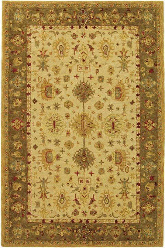 Corum Area Rug - 3'x5', Ivory