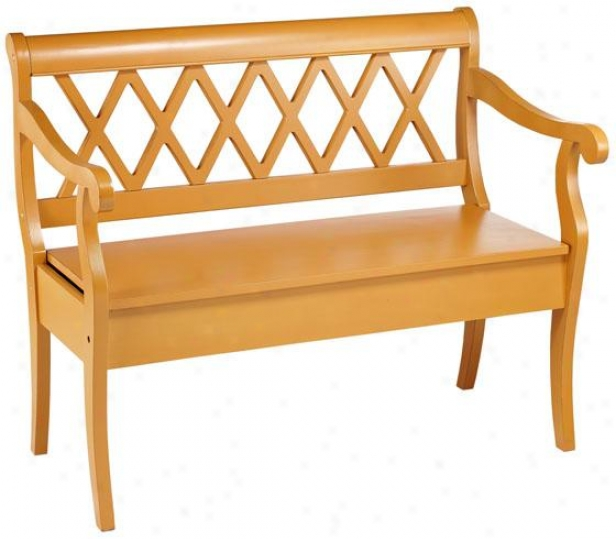 Cottage Bench - Bench, Tiger Stripe