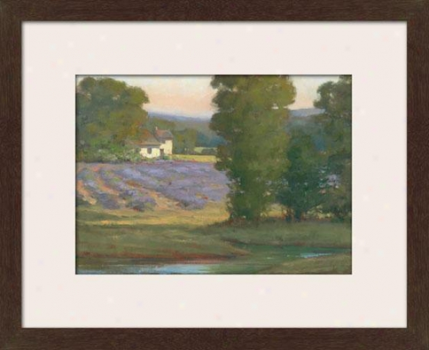 """""""country Home Framed Wall Art - 27""""""""hx33""""""""w, Matted Espresso"""""""