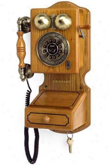 """country KitchenW all Phone Ii - 17.5""""hx12.25""""w, Tan"""