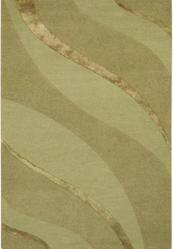 Couristan Plato Area Rug - 2'x3', Green
