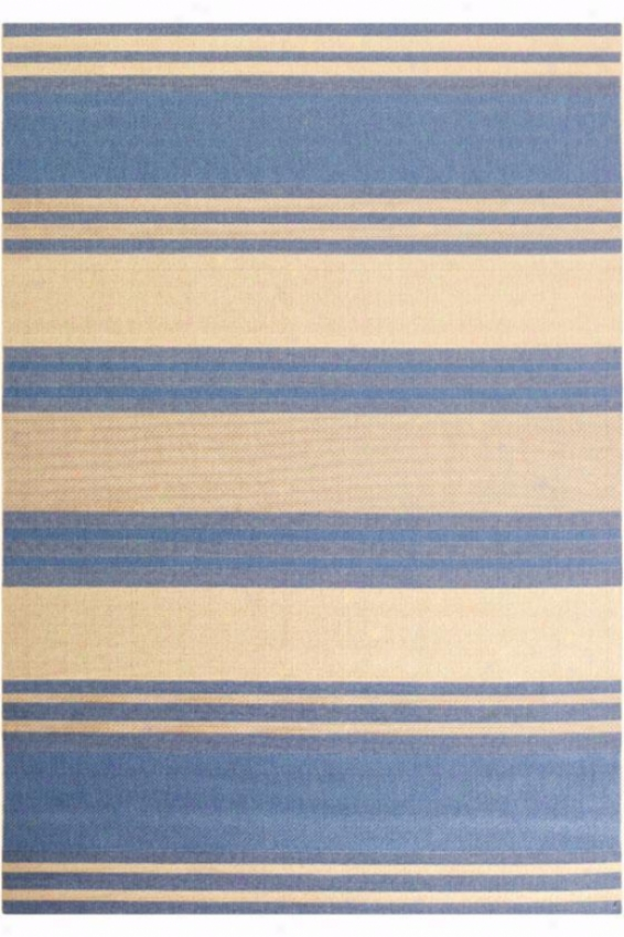 """couristan South Padre Area Rug - 3'7""""x5'5"""", Blue"""