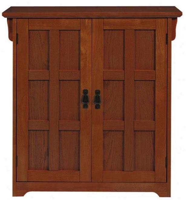 Craftsmna 42-pair Shoe Storage With Doors - 2-door 42-pair, Tan Wood