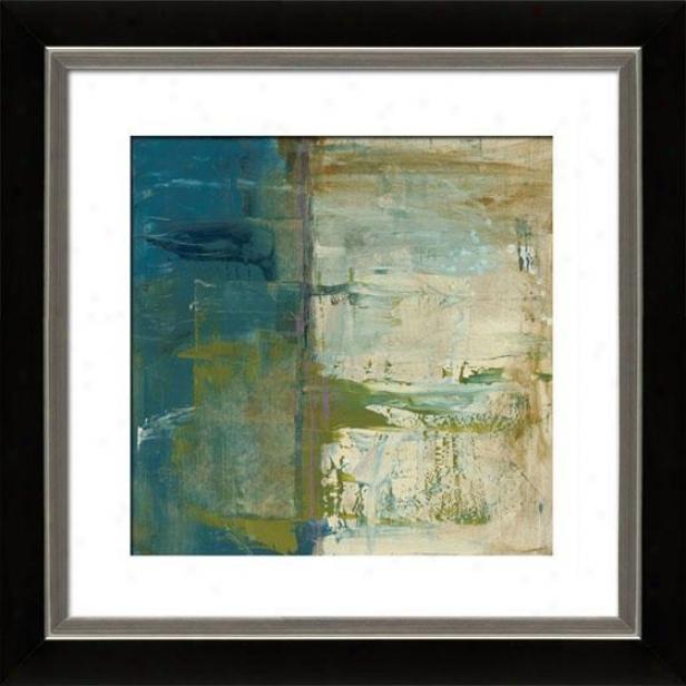 Creation Of Landscapes I Framed Wall Creation of beauty - I, Mttd Black/slvr