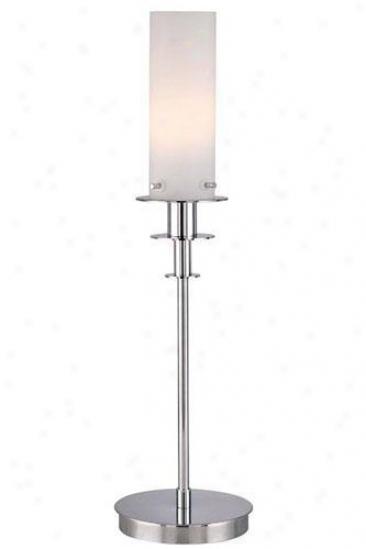 """credence Accent Lamp - 22.5""""hx6""""e, Frost"""