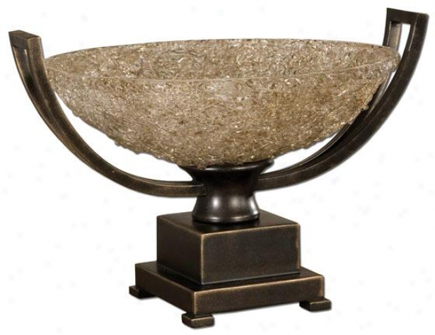 """""""crystal Palace Centerpiece - 11.5""""""""h X 17""""""""w, Oil Rubbed Bron"""""""