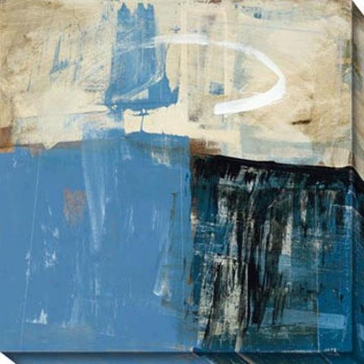 Curious Vision Ii Canvas Wall Art - Ii, Blue