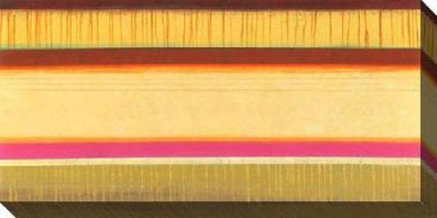 Currents I Canvas Wall Art - I, Gold