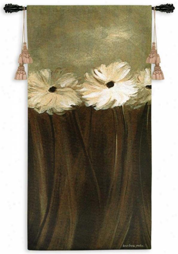"""daisy Aroma Tapestry - 50""""hx266""""w, Mulri"""