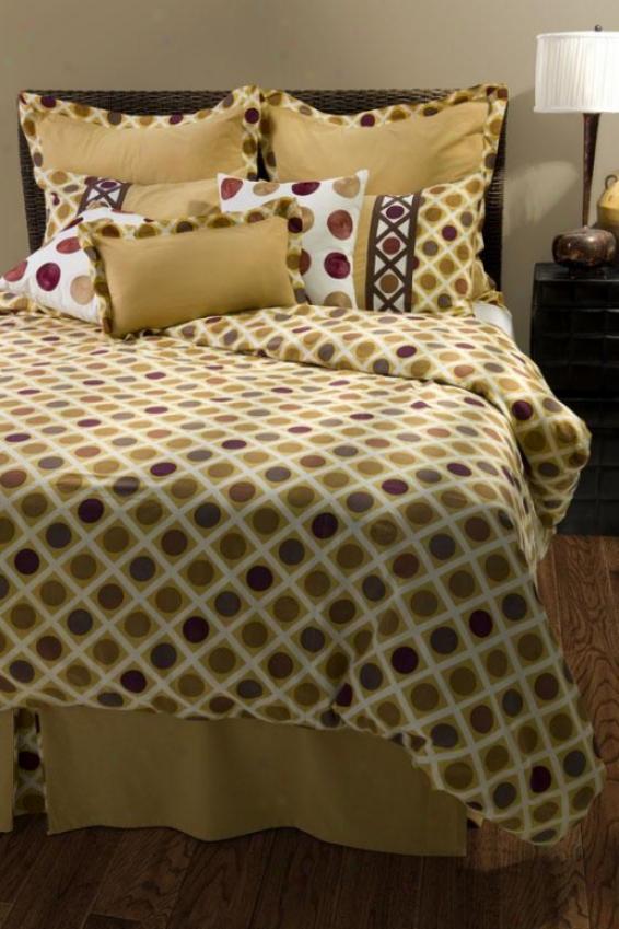 Daly Bedding Set - Queen, Mustard