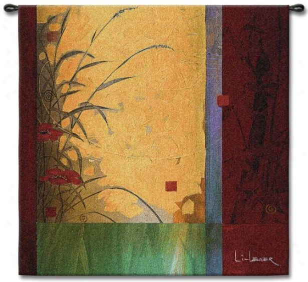 """dancing In The Wind Tapestry I - 44""""hx44""""w, Multi"""