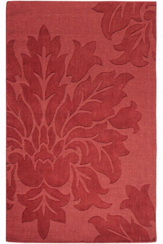 """daphne Rug - 2'9""""x14'runner, Red"""