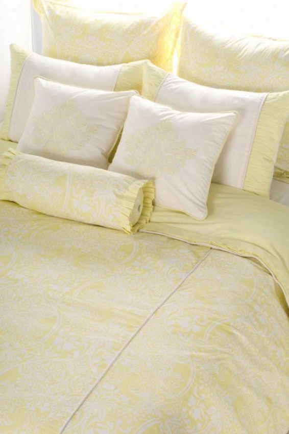 Daphnie Bedding Set - Queen, Pear Green