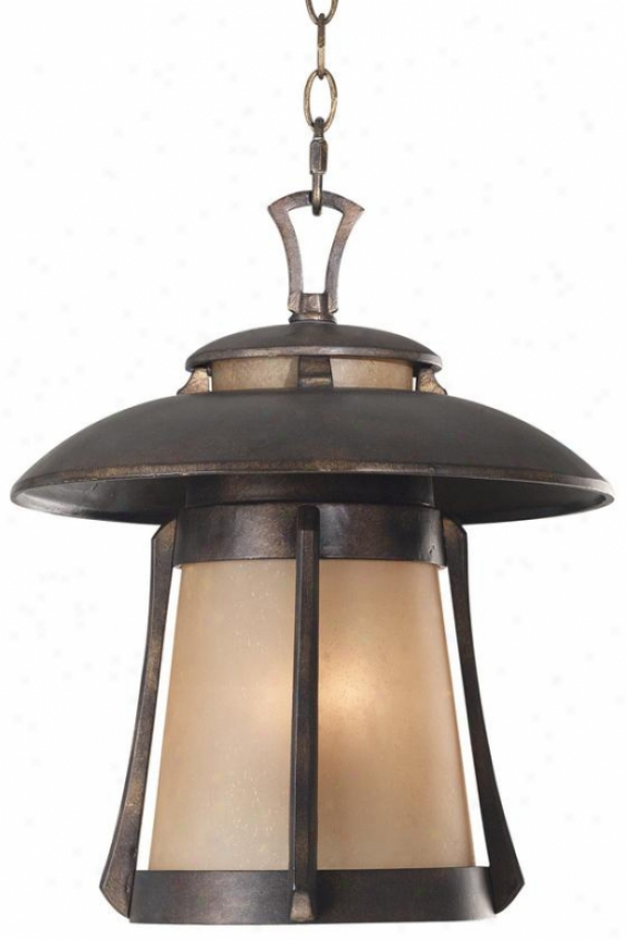 Dara Hanging Lantern - 1-light, Bronze