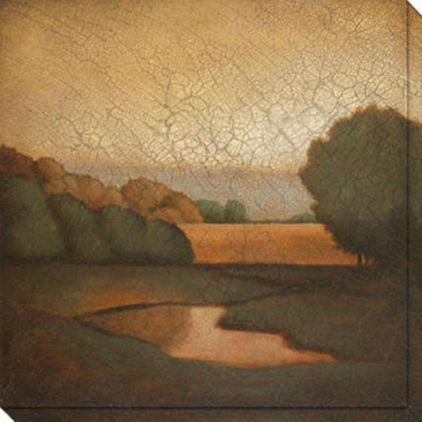 Days Remembered Ii Canvas Wall Art - Ii, Brown